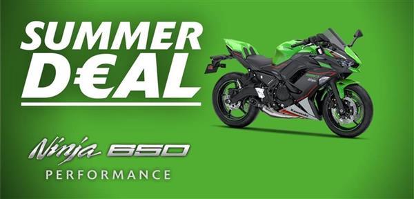 Ninja 650 Promotie