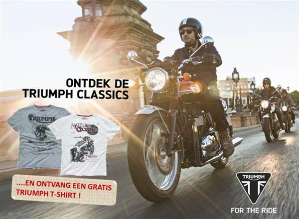 Classics On Tour met T-shirt